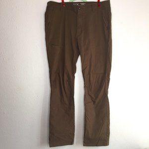 Mountain Hardware, men's 34x32 brown outdoor pants